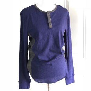 BDG henley shirt SZ S